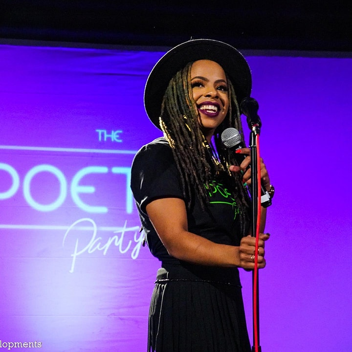 The Poetry Party LIVE  OPEN MIC image