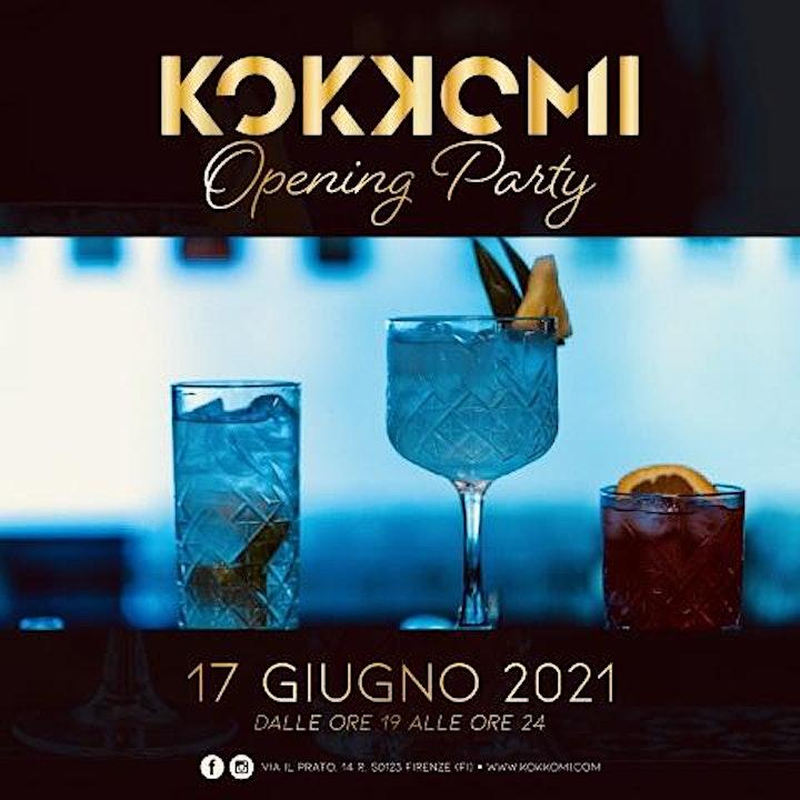 Immagine Giovedi 17 Giugno - Kokkomi Restaurant Opening Party