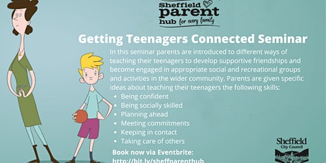 Seminar - Getting Teenagers Connected tickets