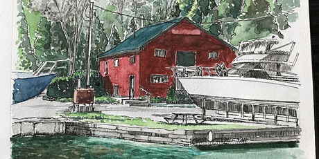 Drawing and Watercolour - Buildings with Michelle Minke tickets