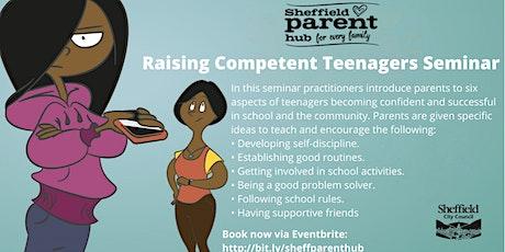Seminar - Raising Competent Teenagers tickets