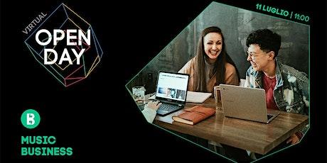 Virtual Open Day • Music Business biglietti