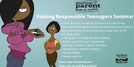 Seminar - Raising Responsible Teenagers tickets