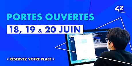 Portes ouvertes de 42 Québec billets