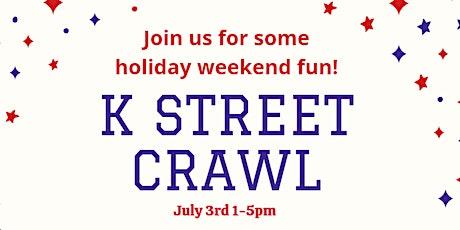 K Street Crawl tickets