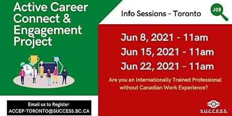 ACCEP Toronto - Online Info Session ingressos