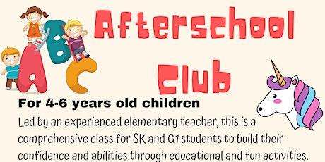 Afterschool Club tickets