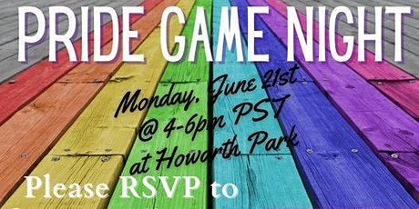 Pride Game Night tickets