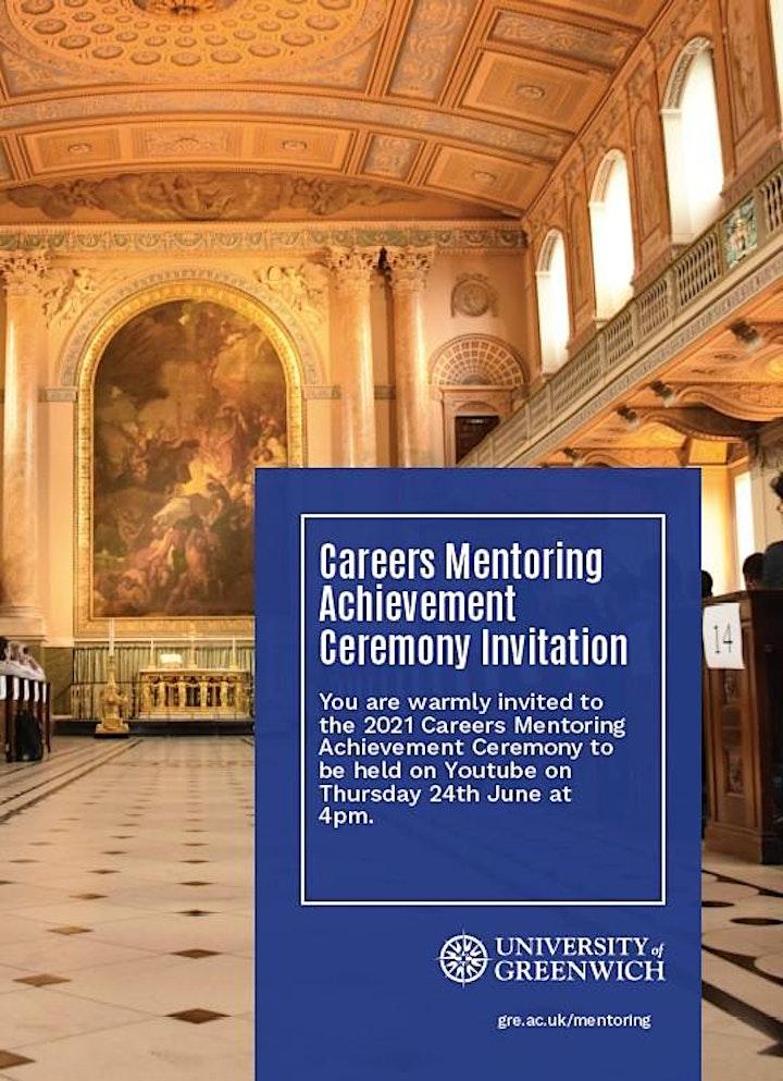 Careers Mentoring Achievement Ceremony image