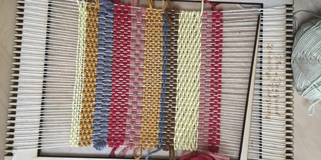 Hand Weaving with Kirsty Jean at The Barn, Heswall, Wirral tickets