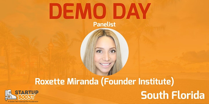 Startup Boost South Florida Spring Session Demo Day June 9th 2021 image