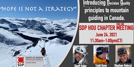 Hope is Not a Strategy | Houston SDP CHAPTER MEETING tickets