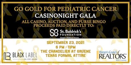 Go GOLD for Pediatric Cancer CasinoNight Gala tickets