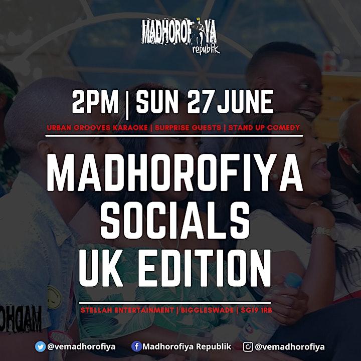 Madhorofiya Socials   UK Edition image