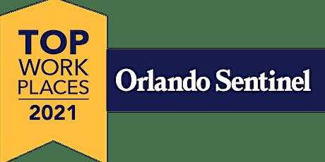 Orlando Sentinel Top Workplaces Virtual Celebration 2021 tickets