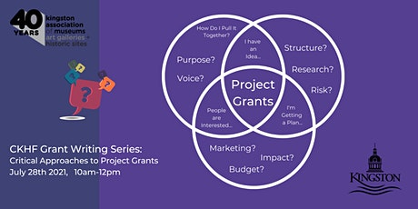 CKHF Grant Writing Series:  Critical Approaches to Project Grants tickets