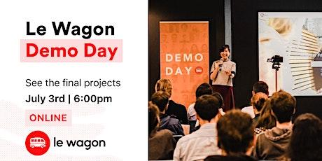 [online] Le Wagon Demo Day – Batch 563 ingressos