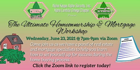 The Ultimate Homeownership and Mortgage Workshop tickets