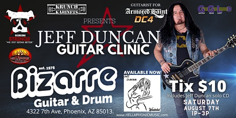 DOI Productions and Krunch Kabinets Presents Jeff Duncan Guitar Clinic tickets