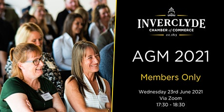 Inverclyde Chamber AGM 2021 (Members Only) tickets