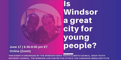 Windsor: Building a great city for young people tickets