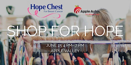 Shop For Hope: A Pop-up shopping event benefitting Hope Chest tickets