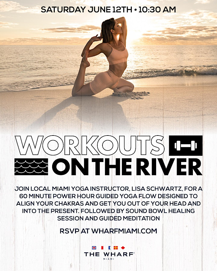 Workouts on the River at The Wharf Miami - Yoga with Lisa! image