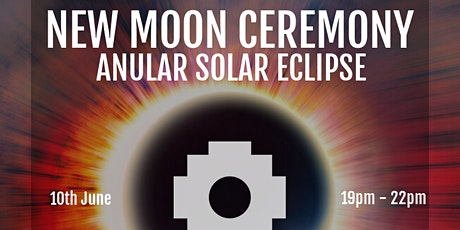 NEW MOON CEREMONY IN GEMINY ON LINE. Solar and Anular eclipse. tickets