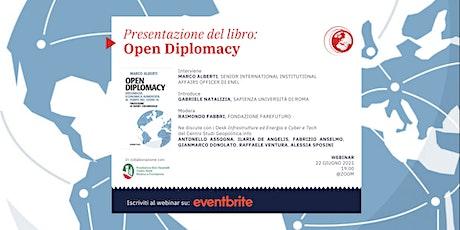 Presentazione libro:  Open Diplomacy biglietti