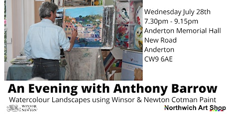Watercolour Landscapes Demonstration with Anthony Barrow tickets