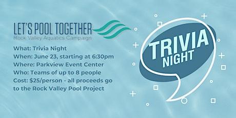 Trivia Night Pool Fundraiser tickets