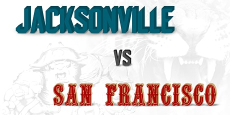 Jacksonville vs San Francisco All-Inclusive Tailgate Experience tickets