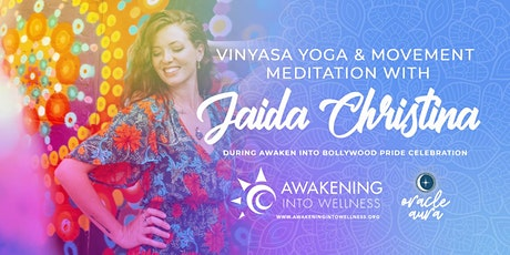 Vinyasa Yoga & Movement Meditation with Jaida Christina tickets
