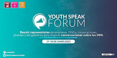 Youth Speak Forum | Argentina entradas