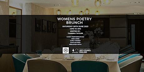 Wordplay & Flow: Women's Poetry Brunch tickets