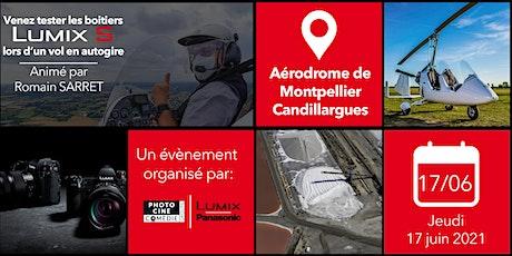 Workshops Lumix - Vol et prises de vue en autogire avec Romain SARRET billets