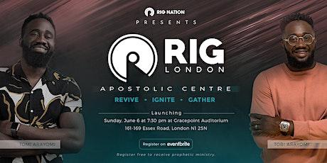 Prophetic word registration tickets