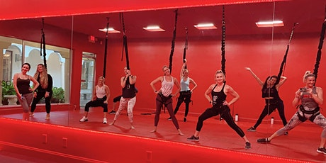 Moms/Girls Night Out: Bungees & Bubbly! Bungee Fitness at Aspis Boca Raton tickets
