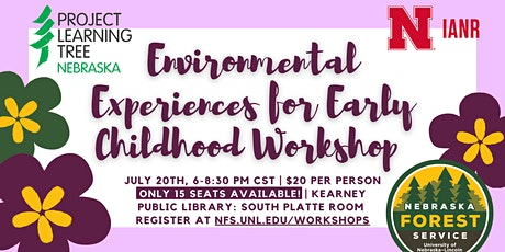 Environmental Experiences for Early Childhood - Kearney, In Person tickets