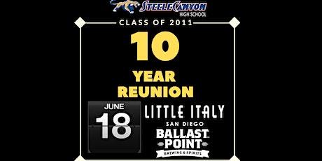 Class of 2011, 10 Year High School Reunion - Steele Canyon tickets