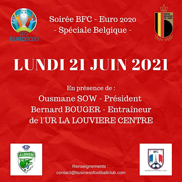 Image pour Afterwork BFC - Euro 2020 - Spéciale Belgique