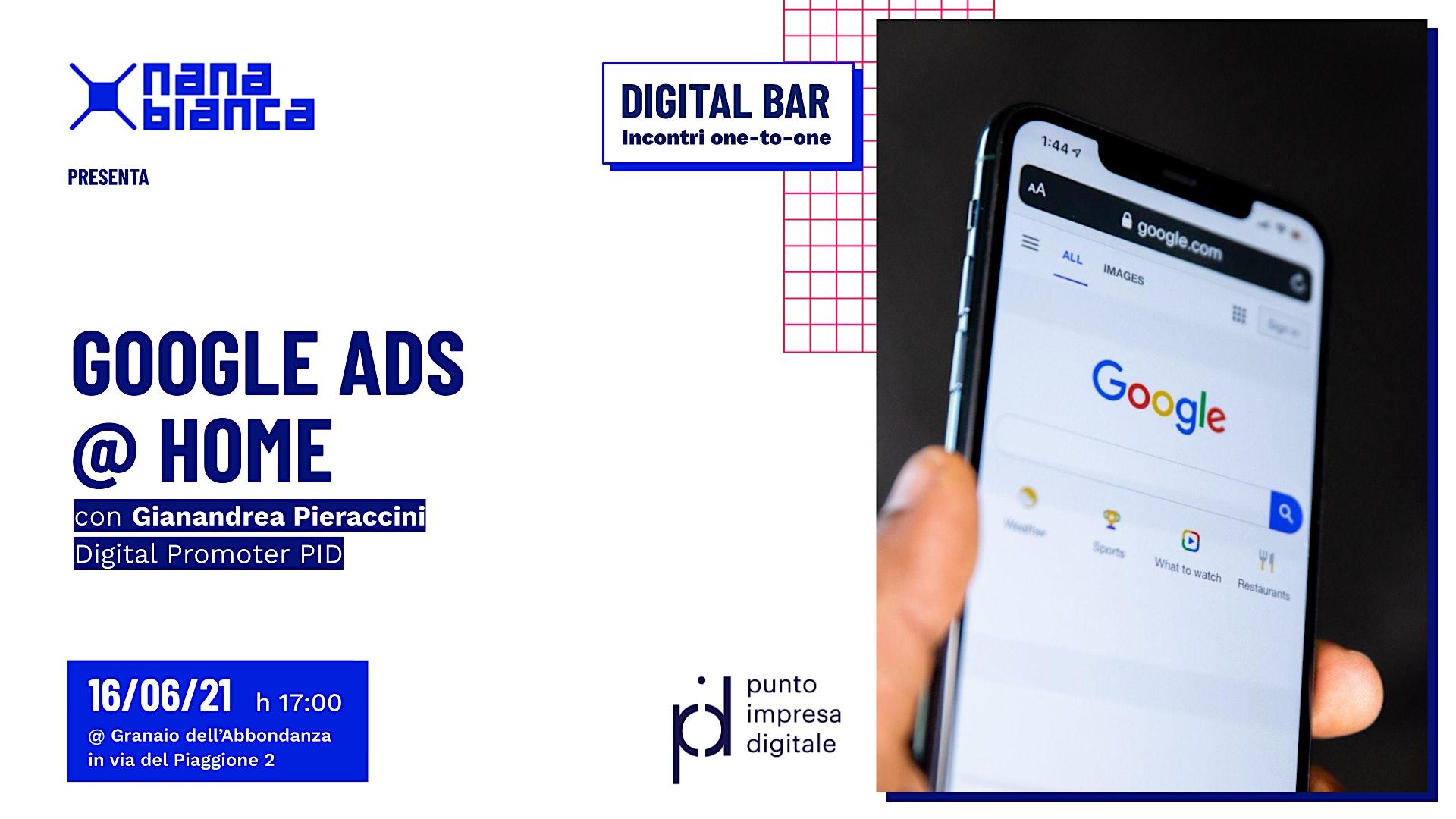 Digital Bar: Google Ads @ Home