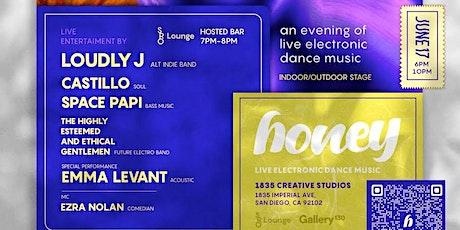 Honey - An evening of live electronic dance music tickets