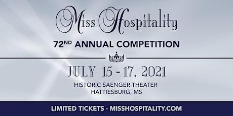 Miss Hospitality tickets