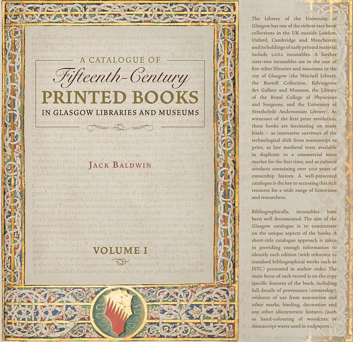 """Virtual Launch: """"A Catalogue of Fifteenth-Century Printed Books"""" image"""