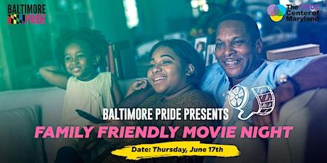 Family Friendly Movie Night tickets