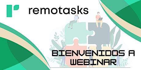 Introdución a Remotasks Webinar (LATAM) tickets