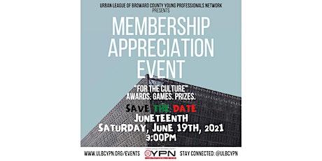 YPN Membership Appreciation Event tickets