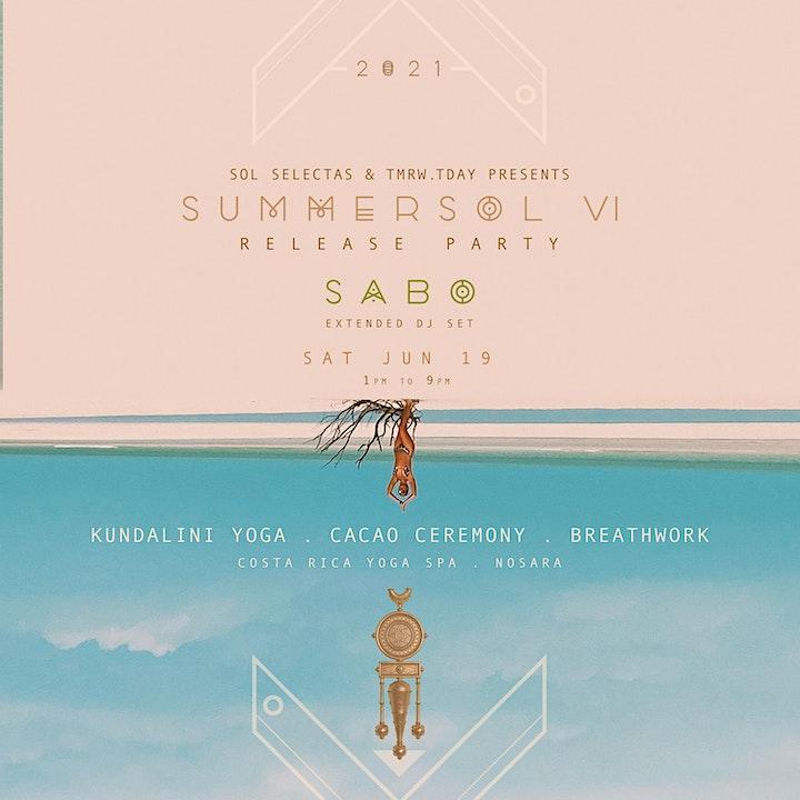 SUMMER SOL JOURNEY NOSARA | FEATURING SABO (SOL SELECTAS) image
