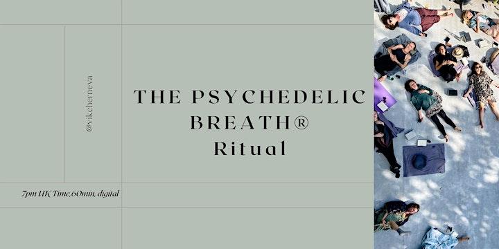 Global Weekly Community PSYCHEDELIC BREATH® Ritual  w/ Vik image